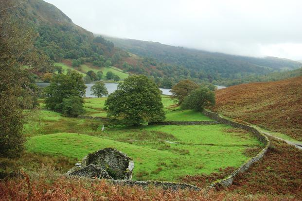 Up the trail from Grasmere.