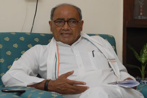 Digvijay Singh has welcomed the probe and posted on social networking website twitter that 'permission was given for it (mall) during my tenure as chief minister. The BJP government's Economic Offences Wing has already investigated the matter and found nothing against me'. Photo: HT