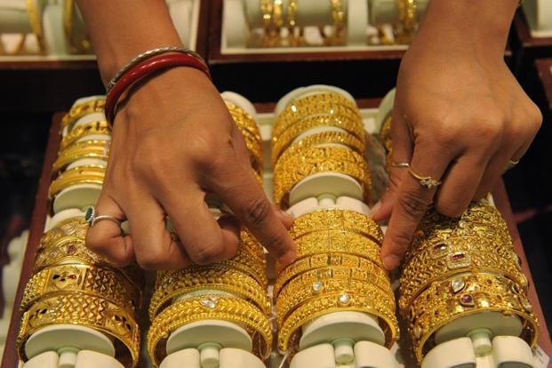 At present, gold prices are ruling at $1724.8 per ounce in London, while silver at $32.64 per ounce in London. Photo: Sam Panthaky/AFP