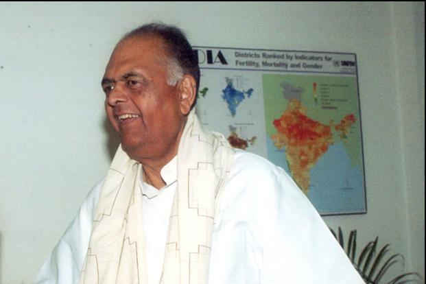 A file photo of former union minister K. C. Pant. Photo: Hindustan Times