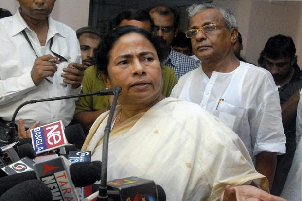 A file photo of Mamata Banerjee. Photo: PTI