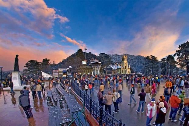 Shimla is the setting for Drop Dead. Photo: Sandeep Sahdev/Hindustan Times