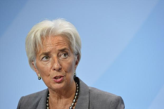 IMF managing director Christine Lagarde is cutting short her visit to Asia to attend the euro zone finance ministers next week. Photo: AFP