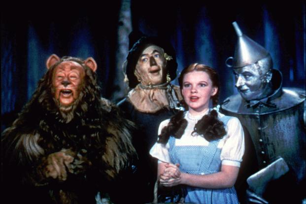 'The Wizard of Oz' games has been downloaded more than 100,000 times at Facebook as of Saturday. Photo: AP