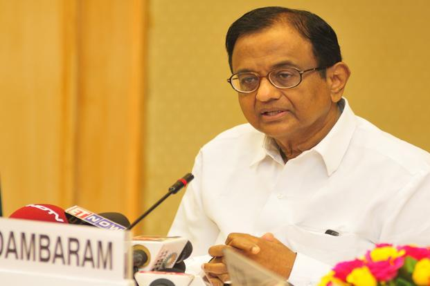 Finance minister P. Chidambaram. Photo: Ramesh Pathania/ Mint