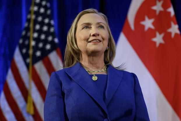 US secretary of state Hillary Clinton. Photo: Reuters