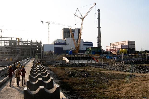 A file photo of a nuclear plant in Kalpakkam, Chennai. Photo: Nathan G/Mint