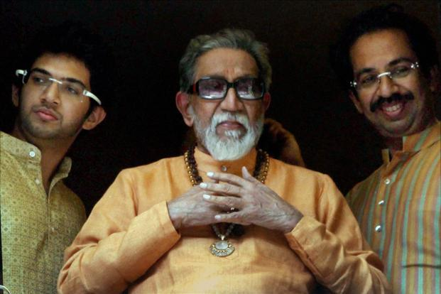 A file photo of Bal Thackeray. Photo: PTI