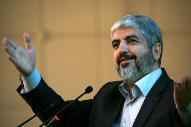 Hamas leader Khaled Meshaal. Photo: AFP