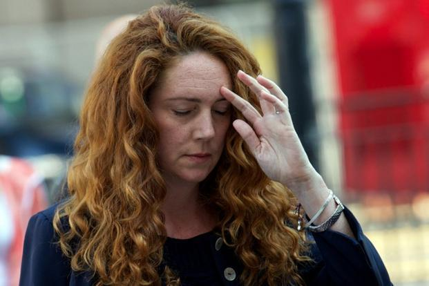 A file photo of Rebekah Brooks. Photo: Andrew Cowie/AFP