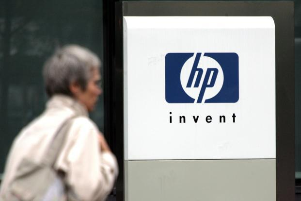 H-P's net revenue fell 6.7% to $29.96 billion for the fourth quarter ended 31 October. Photo: Reuters