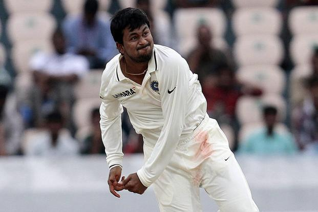 Left-arm spinner Pragyan Ojha. Photo: Sunil Saxena/Hindustan Times