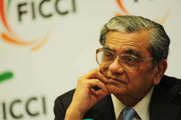 A 2011 photo of Jagdish Bhagwati at Ficci, New Delhi. He said he was confident that the government is determined to take the reforms process further and the ministers are getting uncomfortable with elections approaching in 2014. Photo: Mint