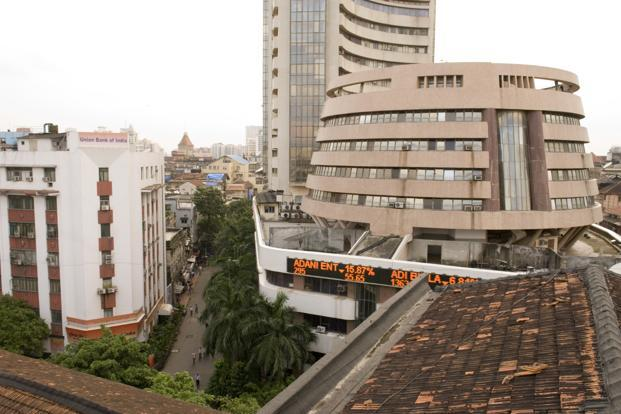 The benchmark BSE index rose 0.72%, or 131.06 points, to end at 18,460.38, while the broader NSE index rose 0.78%, or 43.25 points, to end at 5614.80.   Photo: Mint