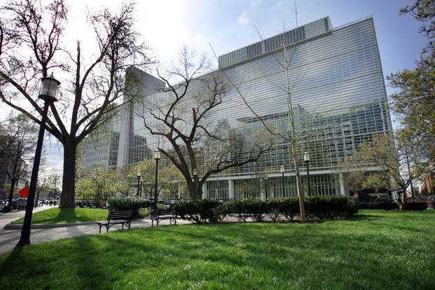A file photo of the World Bank headquarters in Washington. Photo: AFP