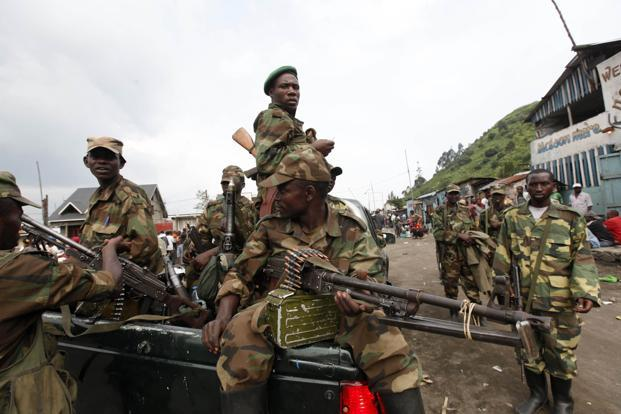 Rebels said on Wednesday that they would liberate the central African country after seizing the provincial capital Goma. Photo: Reuters