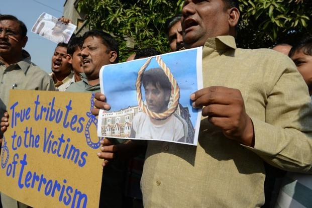 Kasab was hanged on Wednesday. Photo: AFP
