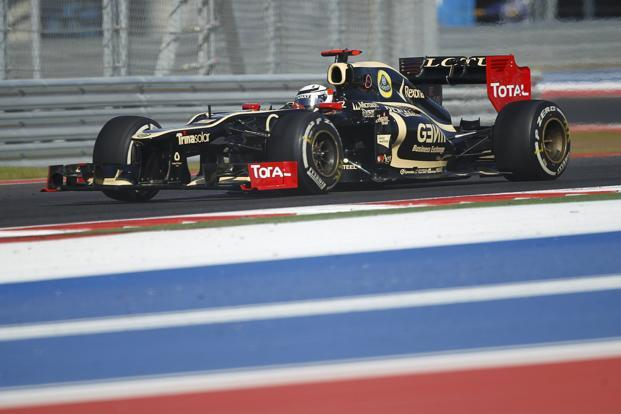 Lotus driver Kimi Raikkonen at the US Grand Prix on 18 November. Photo: Robert Galbraith/Reuters