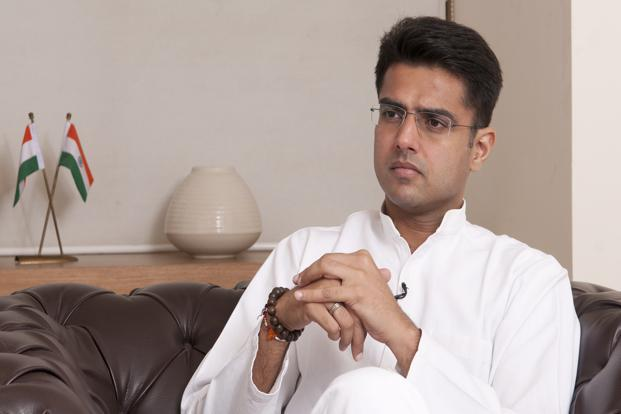 A file photo of minister of state for corporate affairs (independent charge) Sachin Pilot. Photo: Ramesh Pathania/Mint