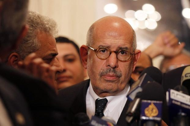 Egyptian opposition leader and Nobel Prize laureate Mohamed ElBaradei. Photo: AFP