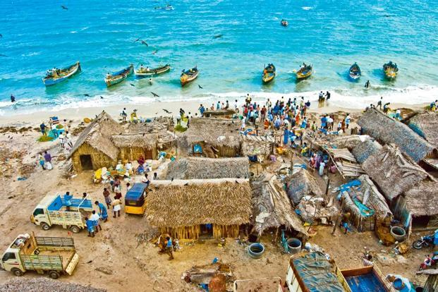 Pamban, a fishing village and harbour, serves as an entry point to the pilgrimage centre of Rameswaram. Photo: Kalanidhi/Flickr.com/photos/kals555