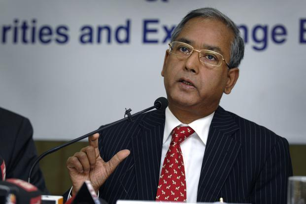 Sebi chairman U.K. Sinha. Photo: Abhijit Bhatlekar/Mint