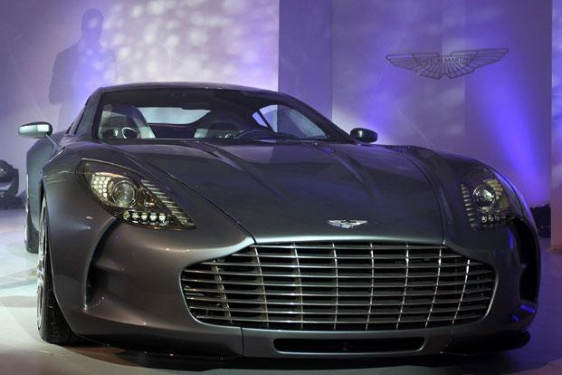 Aston Martin makes the cars immortalized by James Bond films down the decades in Gaydon, Warwickshire, the heartland of England's early 20th century motor manufacturing heyday. Photo: AP