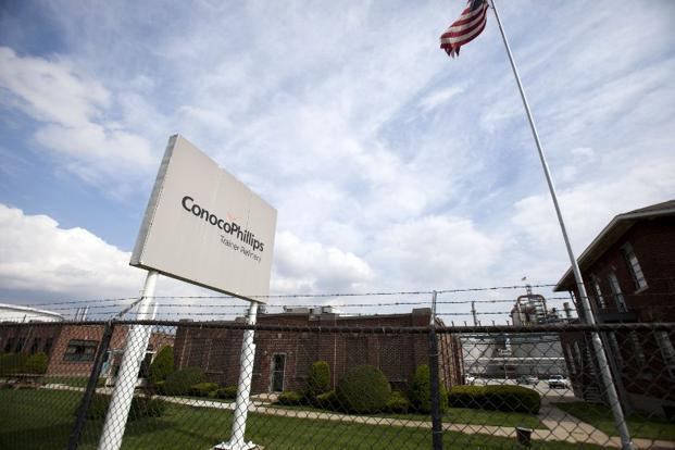 A file photo of a ConocoPhillips oil refinery in Pennsylvania. Photo: AFP