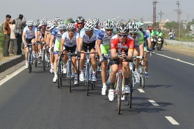 Tour de India is modelled on the great European tradition of cycling races such as Le Tour de France and the Giro d'Italia.