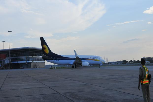 Jet Airways is in talks with Etihad Airways for selling a stake of up to 24%, VCCircle.com first reported on Friday. Photo: Ramesh Pathania/Mint
