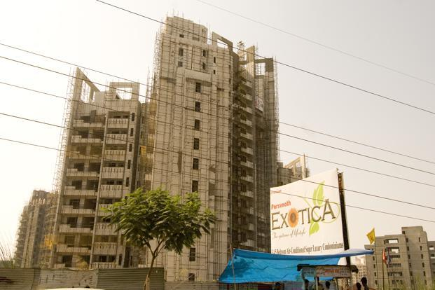 A file photo of Parsvnath Developers' property in Gurgaon. Photo: Ramesh Pathania/Mint
