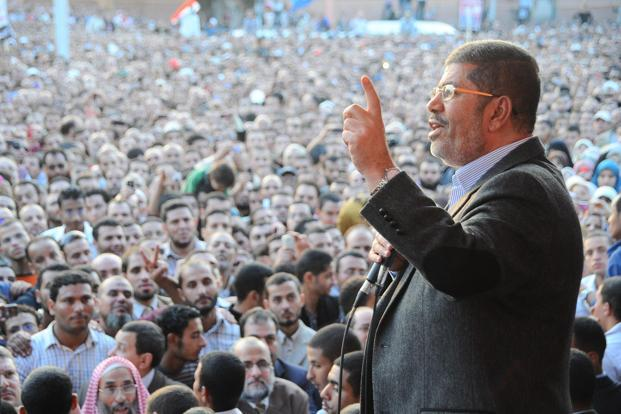 President Mohamed Mursi had accused the court in a speech on Friday of leaking verdicts before a formal announcement. Photo: Reuters