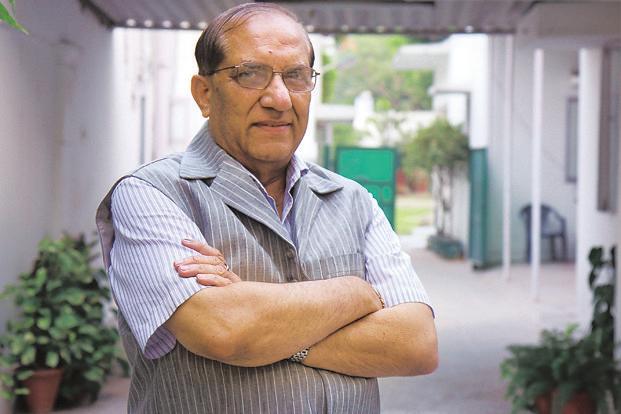Indian Olympic Association's acting chief Vijay Kumar Malhotra. Photo: Hindustan Times (Hindustan Times)