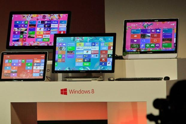 According to tech research firm StatCounter, about 1% of the world's 1.5 billion or so personal computers—making a total of around 15 million—are actually running Windows 8. Photo: AFP