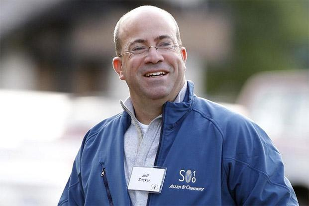 Jeff Zucker gained a reputation as a news-producing whiz when he worked with Couric on NBC's 'Today' show. Photo: Mario Anzuoni/Reuters