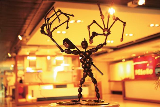 Arun Verma's sculpture Terminator Up in Arms, Rs 1.5 lakh, at www.arunverma.com