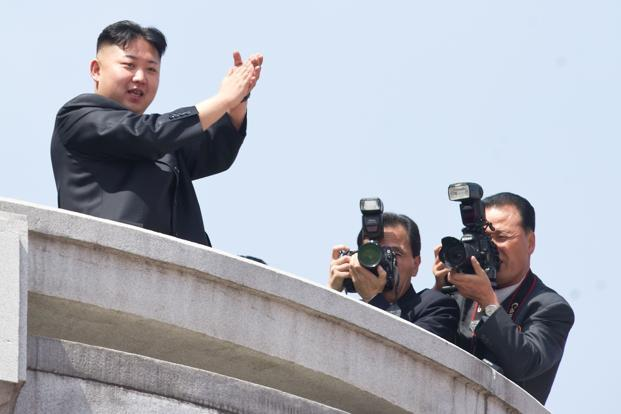 North Korean leader Kim Jong-un. Photo: AFP