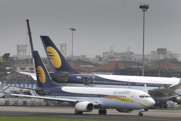 The gains on Monday come on the back of a 57% rise in the carrier's shares in November on speculation over a deal with Etihad Airways. Photo: Abhijit Bhatlekar/Mint