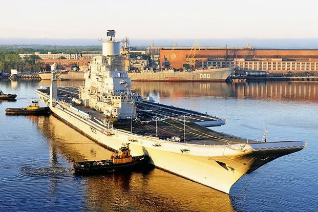 The Navy chief said there has been a delay in the delivery of INS Vikramaditya (Admiral Gorshkov), which has sailed for more than 100 days in the recent past and completed a majority of her equipment and aviation trials. Photo: Wikipedia Commons