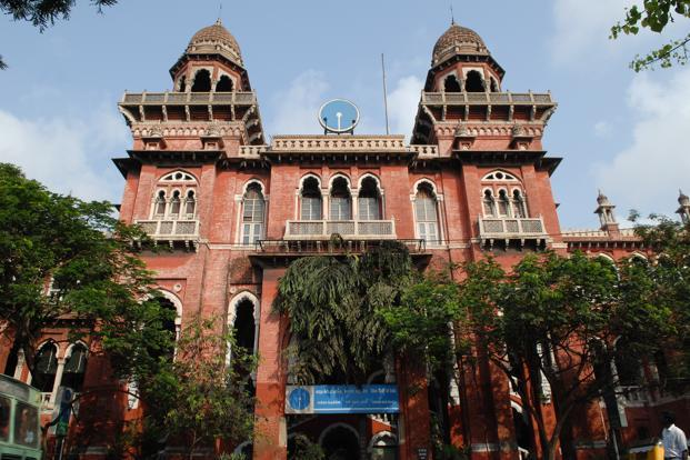 A file photo of the SBI building in Chennai. India's central bank met SBI officials along with regulators from the UK, the US, Europe and a few other countries on Monday. Photo: Hemant Mishra/Mint