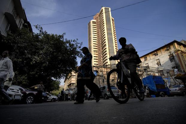 A file photo of the BSE building in Mumbai. Photo: Abhijit Bhatlekar/Mint