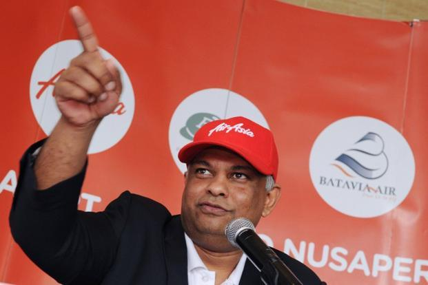 AirAsia chief executive Tony Fernandes. Photo: Romeo Gacad/AFP