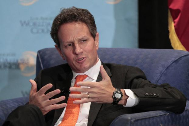 US treasury secretary Timothy Geithner says the administration would reject a budget plan that didn't include an increase in the federal borrowing limit. Photo: Reuters