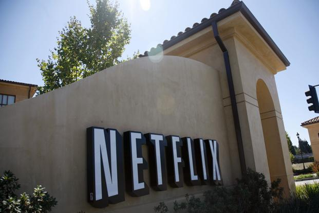 Shares in Netflix, which is based in Los Gatos, California, rose more than 6% on the day of Hastings' Facebook post,  Photo: Robert Galbraith/Reuters