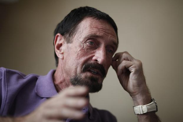 Guatemala has rejected John McAfee's his asylum request. Photo: Jorge Lopez/Reuters