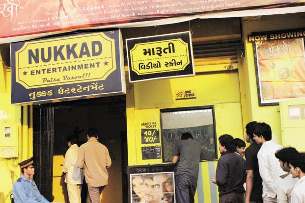 Nukkad set up its first theatre at CTM, near Ahmedabad, in June-July and began by screening Bhojpuri films.