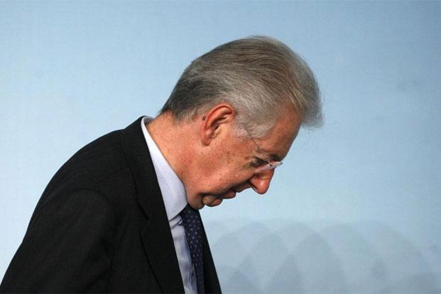 "Italian Prime Minister Mario Monti says his resignation will be ""irrevocable"". Photo: Reuters"