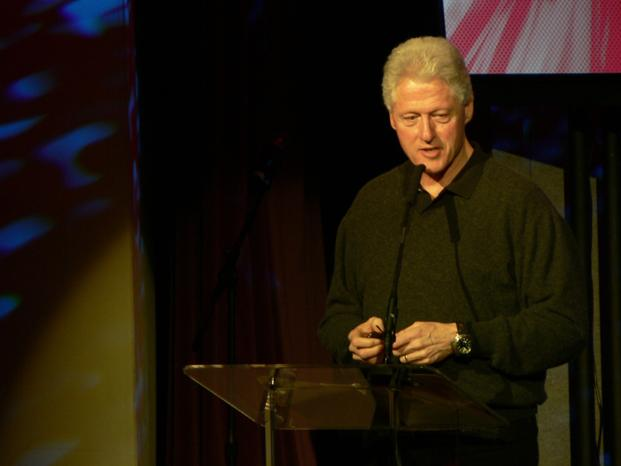 A file photo of Bill Clinton talking at a TED conference. TEDx events are spin-offs of the main brand, to give 'a TED-like experience', planned and coordinated independently and at a local level by organizers who would be advised by TEDx 'ambassadors'. Photo: Wikimedia Commons (Wikimedia Commons)
