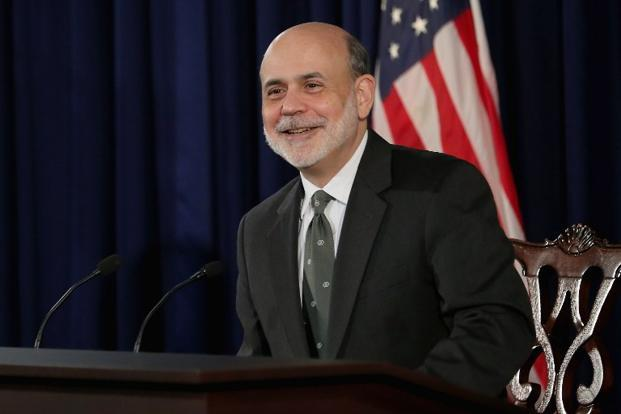 The US Fed chairman Ben Bernanke said interest rates would be kept near the lower bound till the unemployment rate reaches 6.5%. Policymakers should use the next few months of easier liquidity as an opportunity to address the more serious structural problems in the Indian economy. Photo: AFP