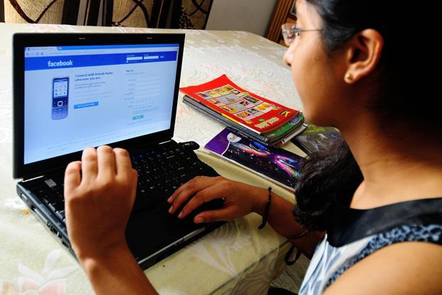 "Facebook last year introduced ""in-context controls"" that call attention to privacy settings at moments when members are taking actions such as posting comments or pictures. Photo: Priyanka Parashar/Mint"